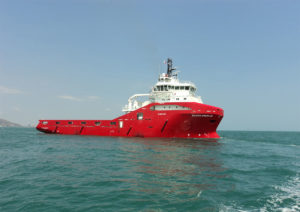 Anchor handling TUG supply vessel 180TBP