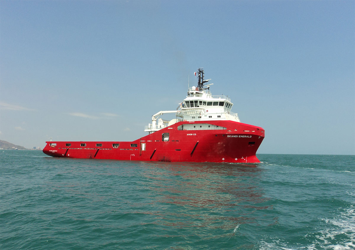Anchor handling TUG supply vessel 180TBP